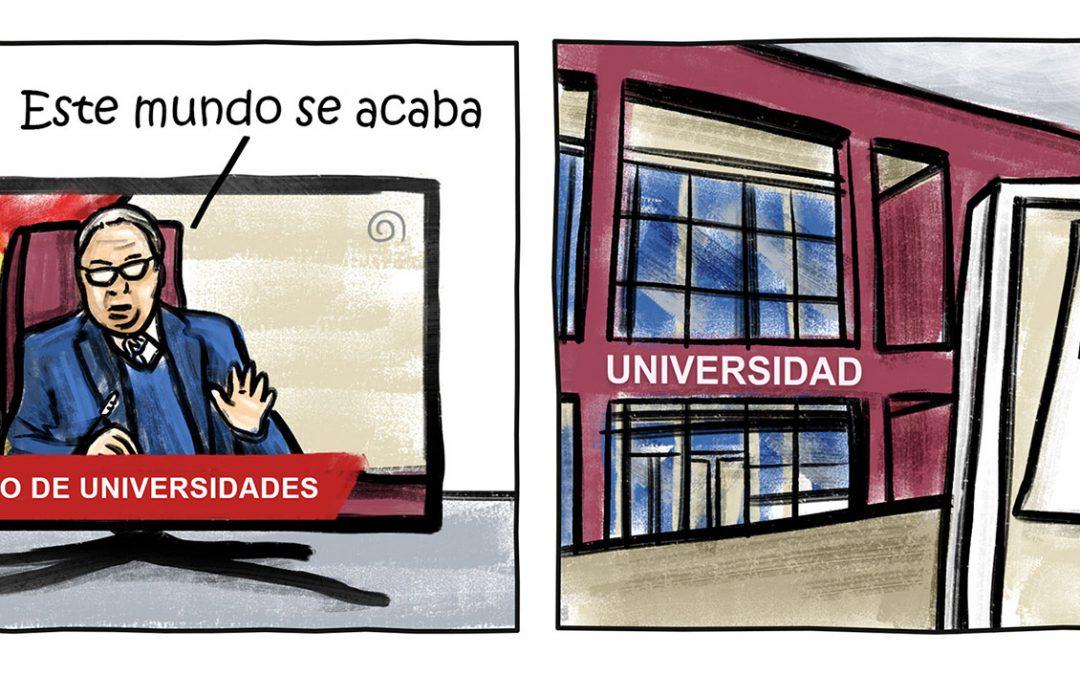 El ministro de Universidades: «Este mundo se acaba»